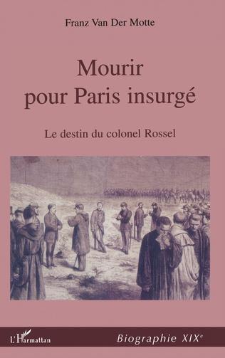 Couverture MOURIR POUR PARIS INSURGÉ