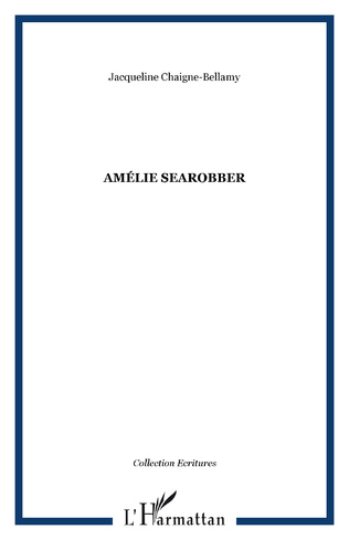 Couverture AMÉLIE SEAROBBER