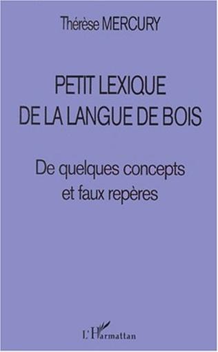 Couverture PETIT LEXIQUE DE LA LANGUE DE BOIS