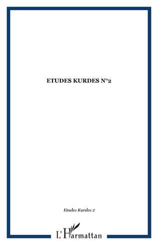 Couverture ETUDES KURDES N°2