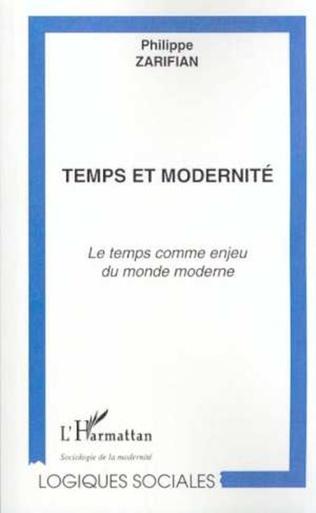 Couverture TEMPS ET MODERNITÉ