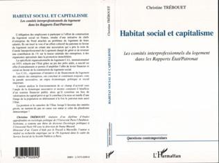 Couverture HABITAT SOCIAL ET CAPITALISME
