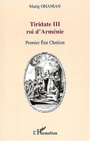 Couverture TIRIDATE III ROI D'ARMENIE