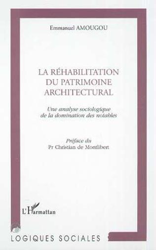 Couverture RÉHABILITATION DU PATRIMOINE ARCHITECTURAL