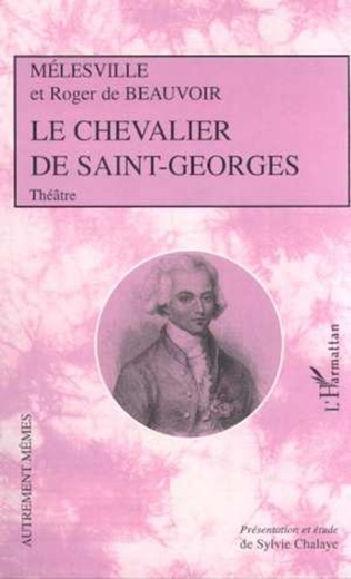 Couverture LE CHEVALIER DE SAINT-GEORGES