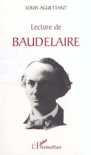 Couverture LECTURE DE BAUDELAIRE