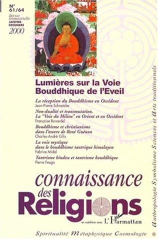 Couverture LUMIÈRES SUR LA VOIE BOUDDHIQUE DE L'ÉVEIL (N°61-64)