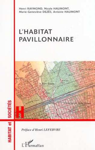 Couverture L'HABITAT PAVILLONNAIRE