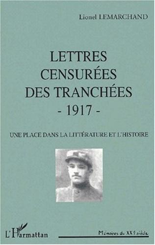 Couverture LETTRES CENSURÉES DES TRANCHÉES - 1917
