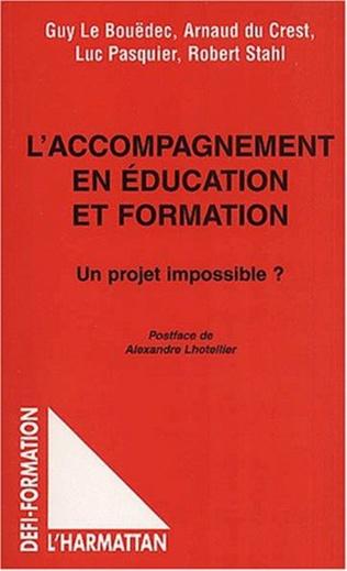 Couverture L'ACCOMPAGNEMENT EN ÉDUCATION ET FORMATION