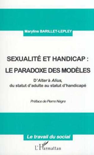 Couverture SEXUALITE ET HANDICAP : LE PARADOXE DES MODÈLES
