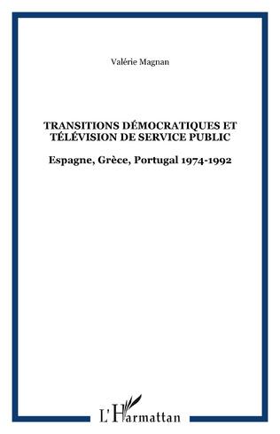 Couverture TRANSITIONS DÉMOCRATIQUES ET TÉLÉVISION DE SERVICE PUBLIC