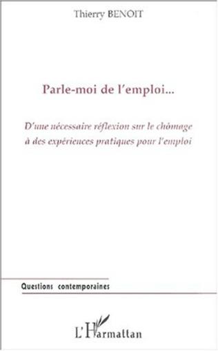 Couverture PARLE-MOI DE L'EMPLOI…