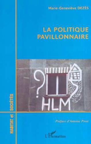 Couverture LA POLITIQUE PAVILLONNAIRE
