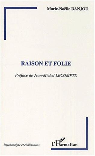Couverture RAISON ET FOLIE