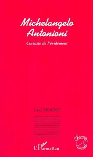 Couverture MICHELANGELO ANTONIONI