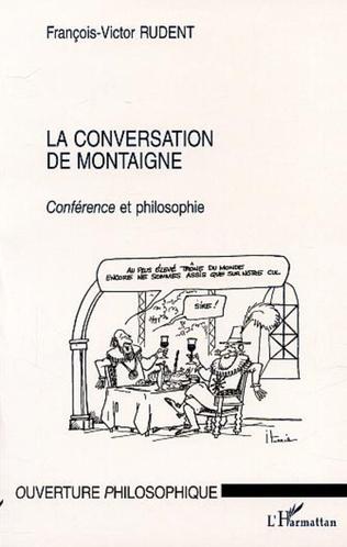 Couverture LA CONVERSATION DE MONTAIGNE