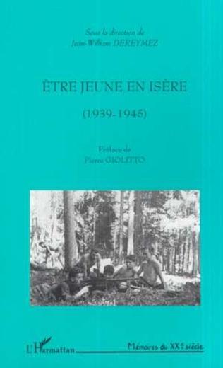 Couverture ÊTRE JEUNE EN ISÈRE (1939-1945)