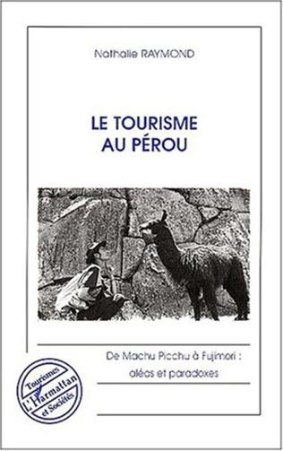 Couverture LE TOURISME AU PEROU