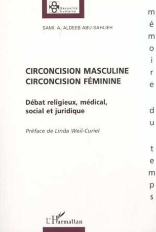 Couverture CIRCONCISION MASCULINE, CIRCONCISION FÉMININE