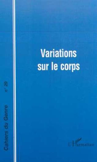 Couverture VARIATIONS SUR LE CORPS