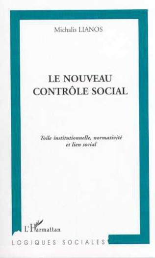 Couverture LE NOUVEAU CONTRÔLE SOCIAL