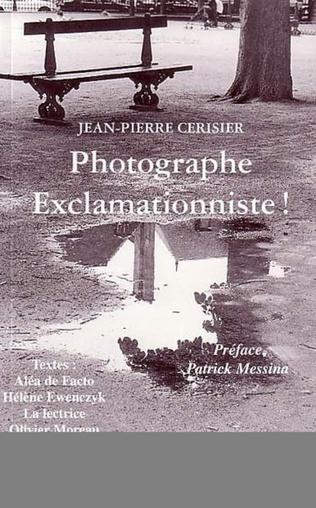 Couverture PHOTOGRAPHE EXCLAMATIONNISTE !