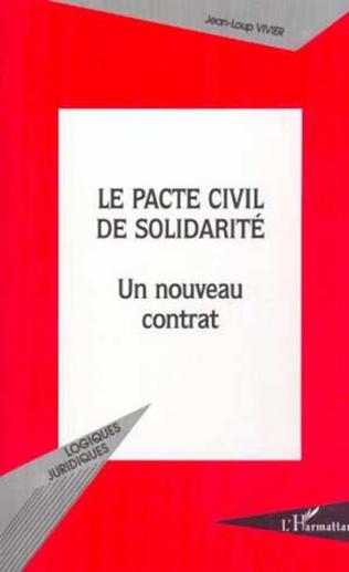 Couverture LE PACTE CIVIL DE SOLIDARITÉ