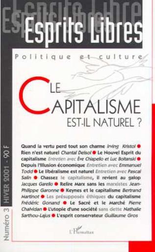 Couverture LE CAPITALISME EST-IL NATUREL ?
