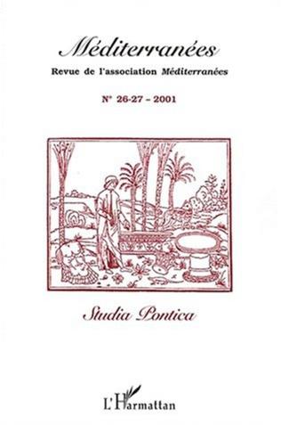 Couverture STUDIA PONTICA (n°26-27)