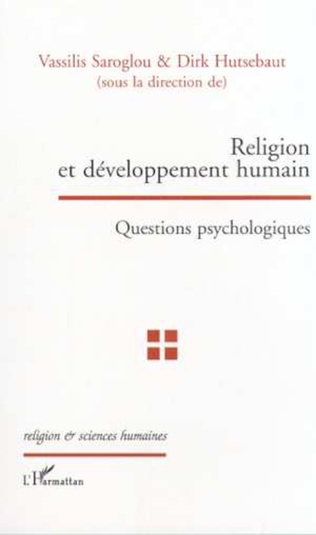 Couverture RELIGION ET DÉVELOPPEMENT HUMAIN