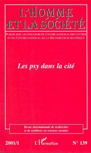 Couverture LES PSY DANS LA CITÉ