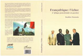 Couverture FRANÇAFRIQUE : L'ÉCHEC