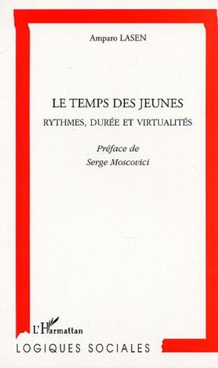 Couverture LE TEMPS DES JEUNES