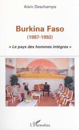 Couverture BURKINA FASO (1987-1992)