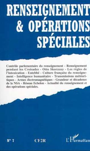 Couverture RENSEIGNEMENT ET OPÉRATIONS SPÉCIALES N°7