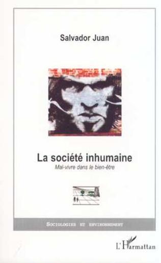 Couverture LA SOCIÉTÉ INHUMAINE