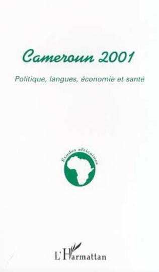 Couverture CAMEROUN 2001