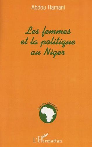 Couverture LES FEMMES ET LA POLITIQUE AU NIGER