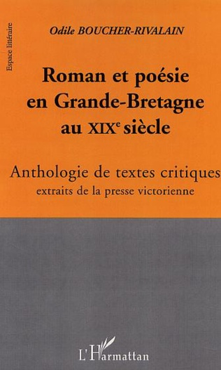 Couverture ROMAN ET POÉSIE EN GRANDE-BRETAGNE AU XIXè SIÈCLE