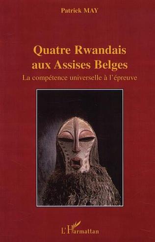 Couverture QUATRE RWANDAIS AUX ASSISES BELGES