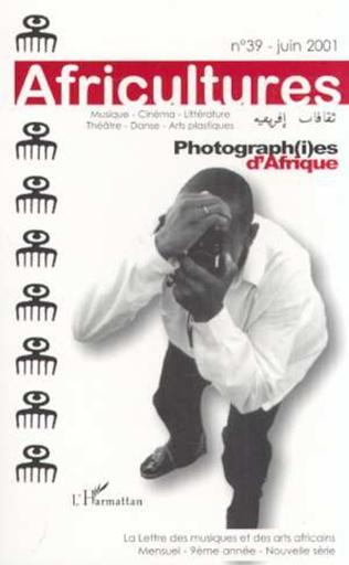 Couverture Photograph(i)es d'Afrique