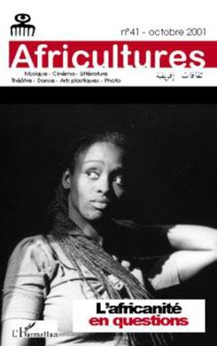 Couverture L'africanité en questions
