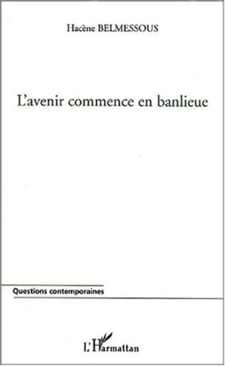 Couverture L'AVENIR COMMENCE EN BANLIEUE