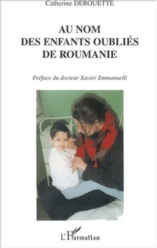 Couverture AU NOM DES ENFANTS OUBLIÉS DE ROUMANIE