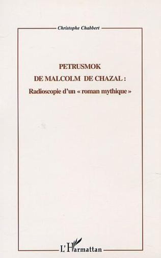 Couverture PETRUSMOK DE MALCOM DE CHAZAL