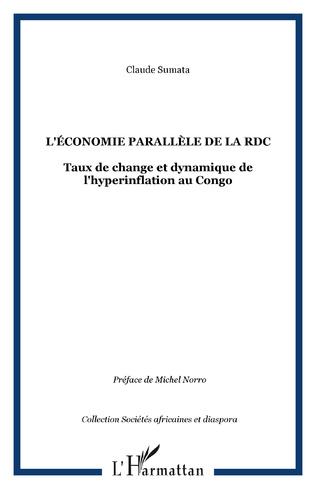 Couverture L'ÉCONOMIE PARALLÈLE DE LA RDC