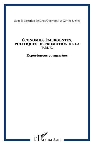 Couverture ÉCONOMIES ÉMERGENTES, POLITIQUES DE PROMOTION DE LA P.M.E.