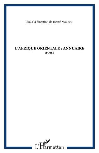 Couverture L'AFRIQUE ORIENTALE : ANNUAIRE 2001