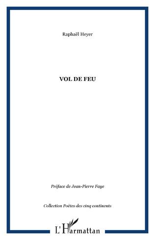 Couverture VOL DE FEU